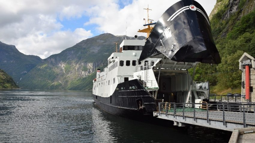 Geirangerfjord Cruise boat Photo Credit: Ruby Jutlay