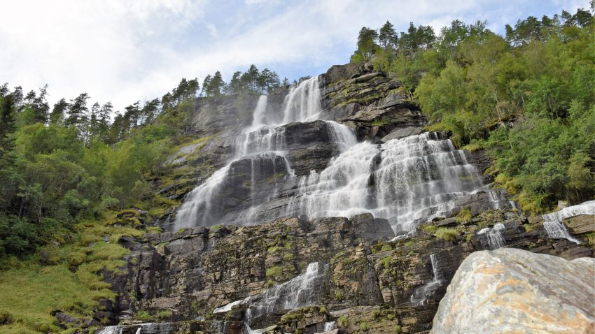 Tvindefossen Waterfall Photo Credir: Ruby Jutlay
